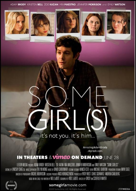 """18 juin 2013, voici la bande annonce de""""Some Girls"""" !"""