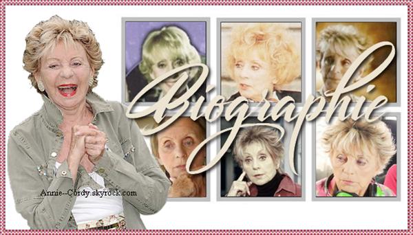 Biographie - Actrice de télévision