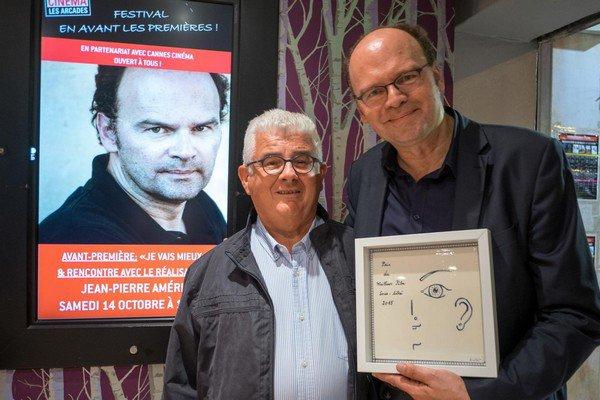 Le réalisateur Jean-Pierre Alméris a présenté sa nouvelle comédie en avant-première à Cannes