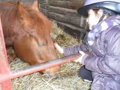 ma ptite puce o poney !