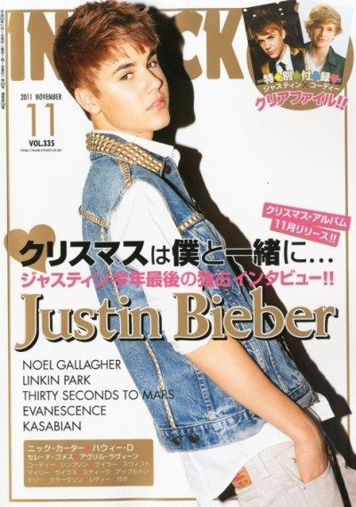 Justin en une des magazines Inrock et Billboard