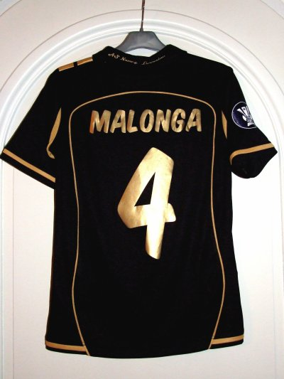 COUPE UEFA 2008-2009 - MALONGA n°4 - Maillot préparé