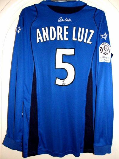 Saison 2009-2010 - André Luiz n°5 (Dos) - MONACO-ASNL - 08 mai 10