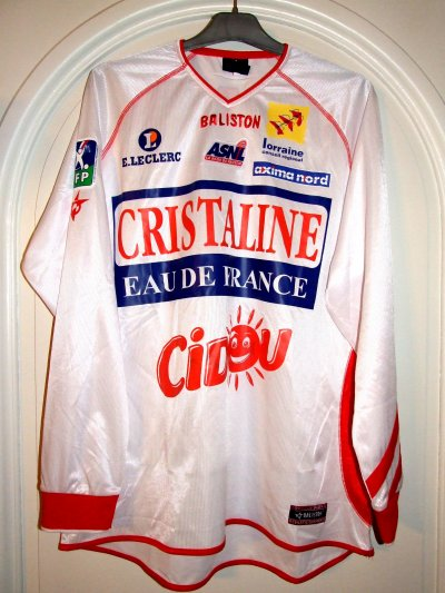 Saison 2003-2004 - CURBELO n°17 (Face)