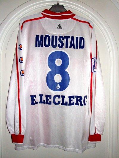 Saison 2001-2002 - MOUSTAID n°8 (Dos - Sponsor Vittel)