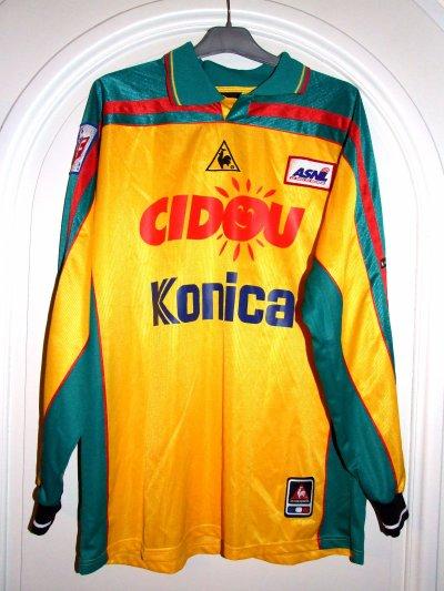 Saison 2000-2001 - BIANCALANI n°8 (Face)