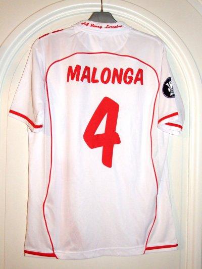 UEFA 2008-2009 - MALONGA n°4 (Dos) - ASNL-FEYENOORD - 23 oct. 2008