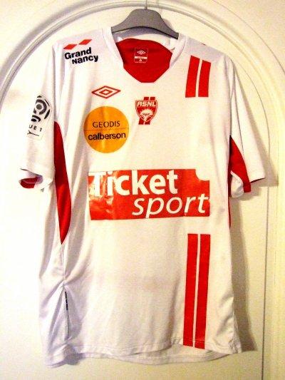 Saison 2010-2011 - Chrétien n°20 (Face) - ASNL-Toulouse - 28 aou.10