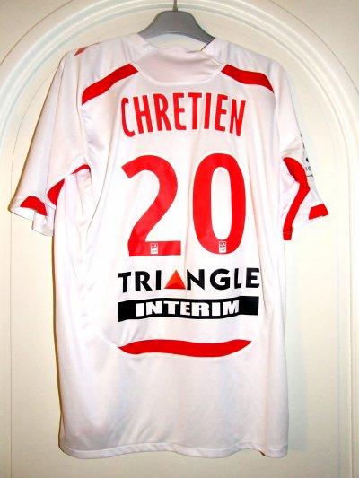 • Saison 2010-2011 - Chrétien n°20 (Dos) - ASNL-Toulouse - 28 aou.10