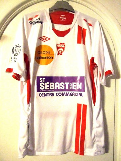 Saison 2010-2011 - Feret n°18 (Face) - ASNL-Lyon - 02 oct.10