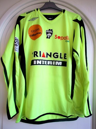 Saison 2010-2011 - Gregorini n°16 (Face) - Arles Avignon-ASNL - 04 dec.10