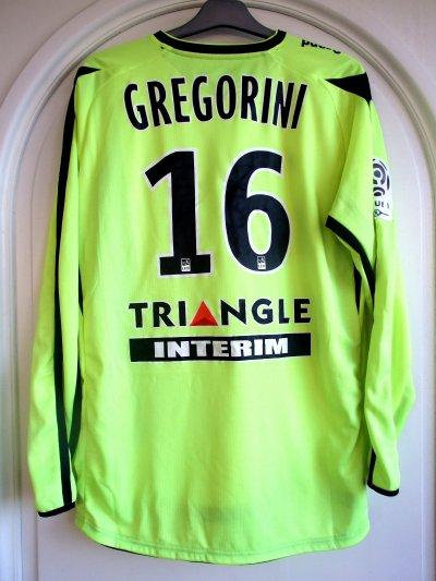Saison 2010-2011 - Gregorini n°16 (Dos) - Arles Avignon-ASNL - 04 dec.10