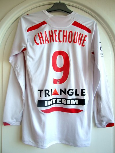 Saison 2010-2011 - Chahechouhe n°9 (Dos) - Bordeaux-ASNL - 13 nov.10