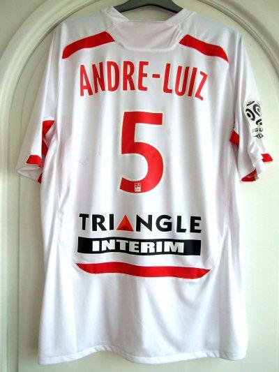 Saison 2010-2011 - ANDRE LUIZ n°5 (Dos) - Lorient-ASNL - 5 mar.11