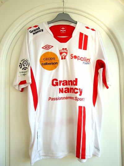 Saison 2010-2011 - Cuvillier n°18 (Face) - ASNL-Sochaux - 11 dec.10