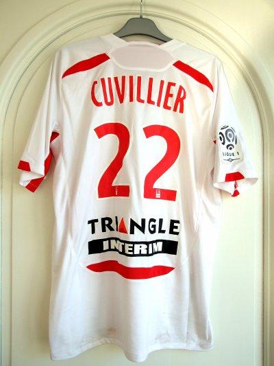 Saison 2010-2011 - Cuvillier n°18 (Dos) - ASNL-Sochaux - 11 dec.10