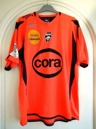 Saison 2010-2011 - BRACIGLIANO n°1 (Face) - ASNL-Brest - 18 sep.10