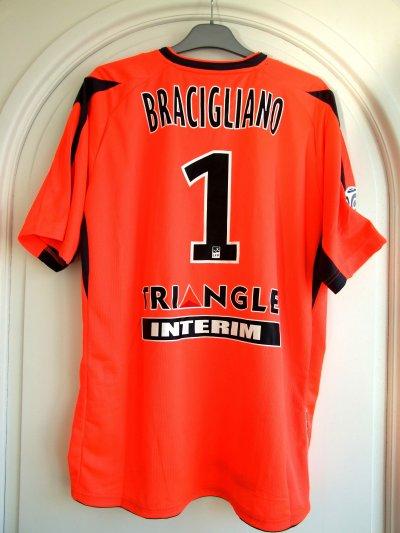 Saison 2010-2011 - BRACIGLIANO n°1 (Dos) - ASNL-Brest - 18 sep.10