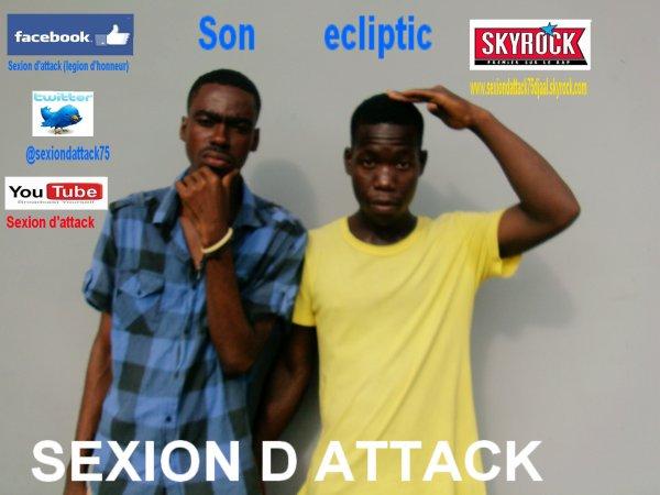 mixtape fait gaff  / Sexion d attack-Son ecliptic (2012)
