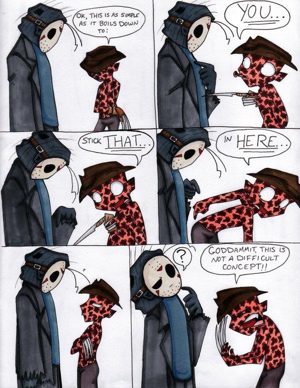 Quand Freddy veut coucher avec Jason