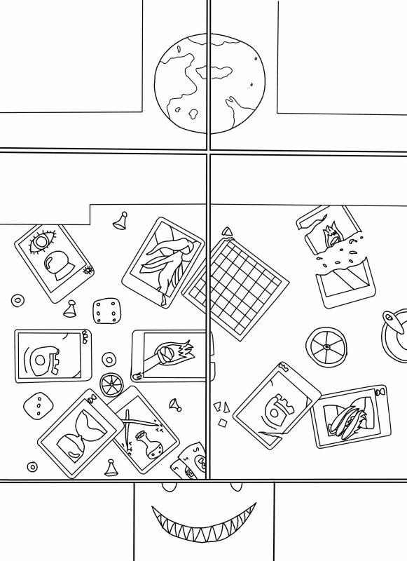 Page 1 prologue (projet BD, repassé)