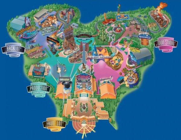Le Parc Walt Disney Studios