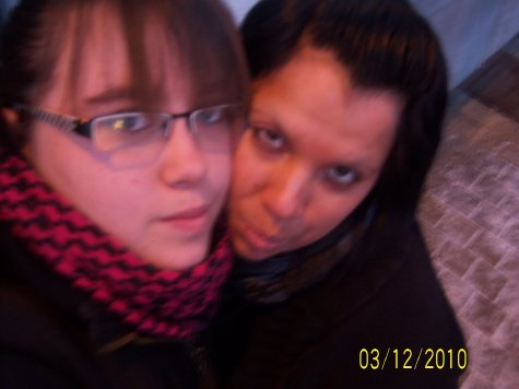 Une amie et moiii <3