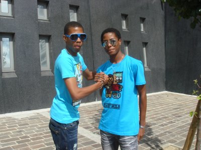 Les Jumeaux !!!! LOoL !!!  The Ken'Z and Yumkris