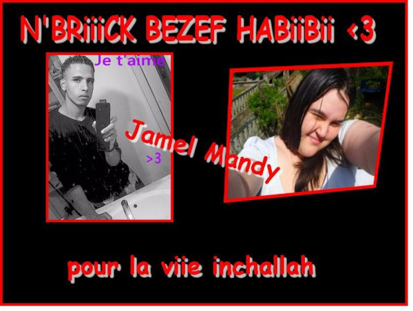 Nexs du couple : Mandy & jamel