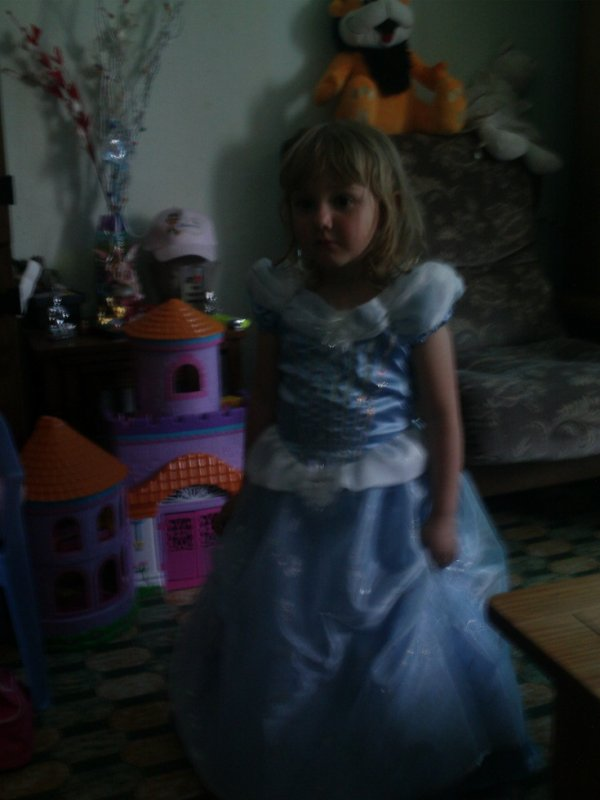 louise en princesse