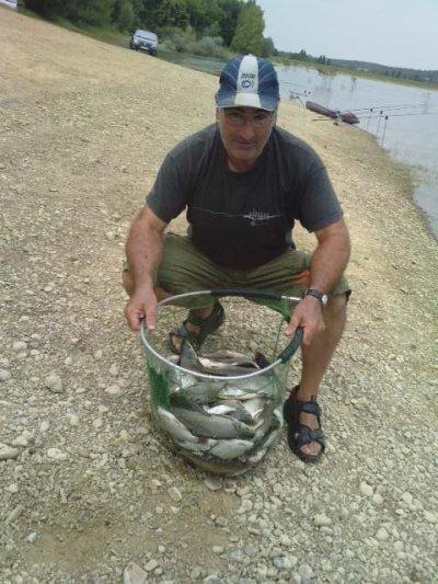 Un entrainement en américaine avec mon père au lac de l'Astarac (32)