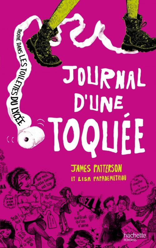Journal d'une toquée, de James Patterson & Lisa Papademetriou chez Hachette