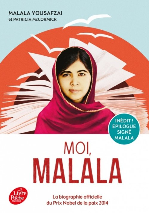 Moi, Malala, de Malala Yousafzai chez Le livre de poche