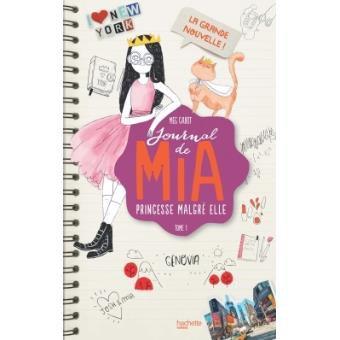 Journal de Mia Tome 1: La grande nouvelle, de Meg Cabot chez Hachette