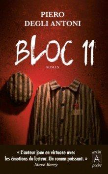 Bloc 11, de Piero Degli Antoni chez Archipel