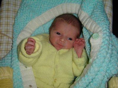 Et voici ma petite merveille...Samuel