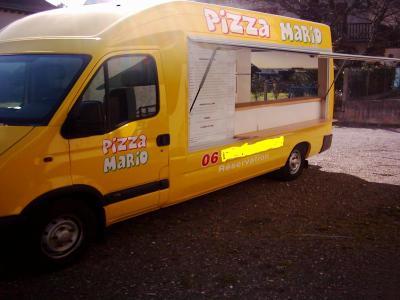 Superbe camion pizza vendre mon camion pizza for Par a vent exterieur
