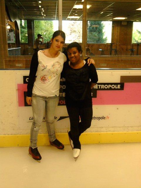 moi a la patinoire