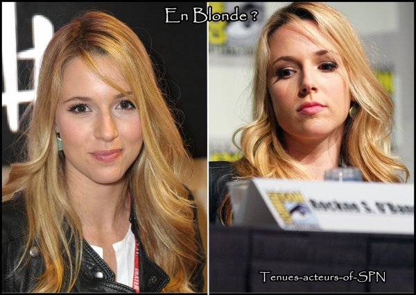 Sondage : En blonde ou en brune ?