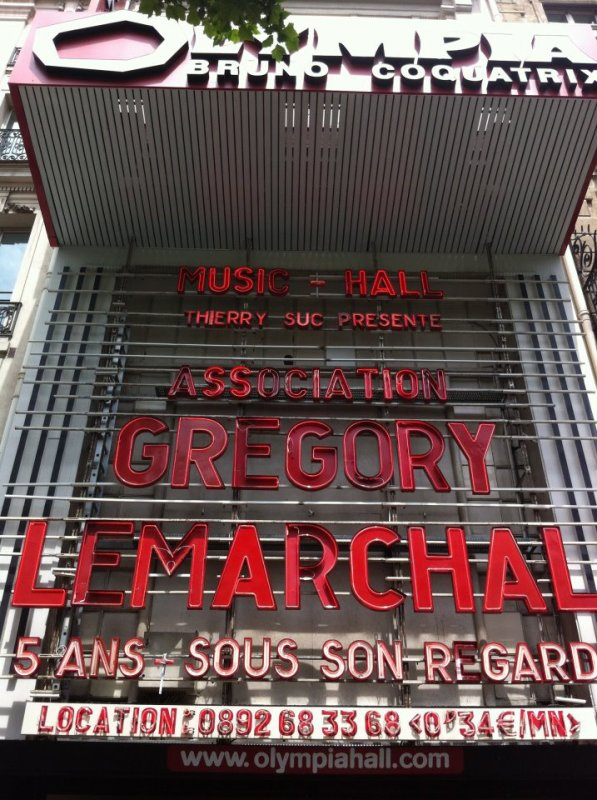 Concert Association Gregory Lemarchal!<3