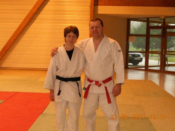 Stage jujitsu anzin le 23 janvier 2011