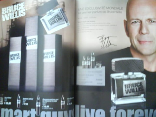 Gamme BRUCE WILLIS