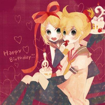 Anniversaire de Rin & Len Kagamine!