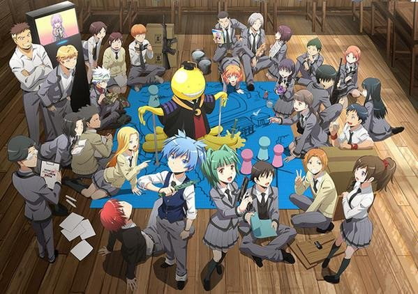 Ansatsu Kyoushitsu 2nd Season (暗殺教室 2nd Season) / Assassination Classroom 2nd Season