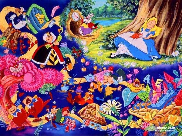 Alice au Pays des Merveilles / Alice in Wonderland (Disney)