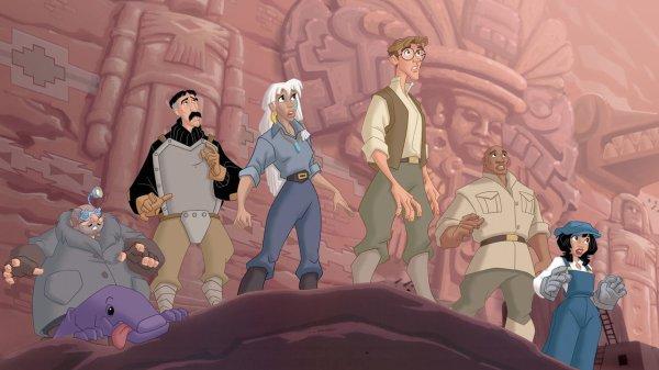 Les Enigmes de l'Atlantide (Atlantis: Milo's Return)