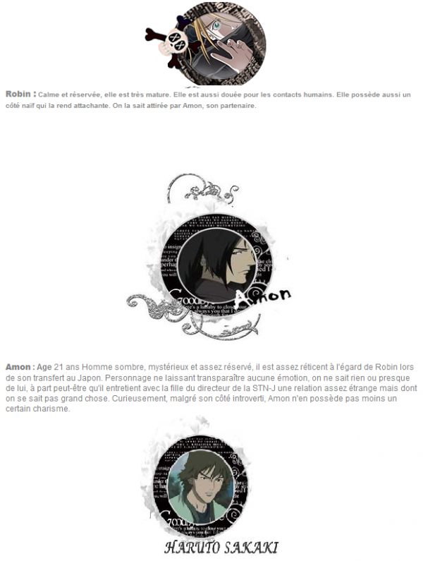 → Witch Hunter Robin ! ウィッチハンターロビン