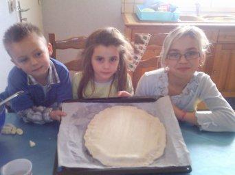 (l)Mes enfants qui font de la cuisine(l)