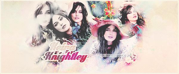 ✘ Bienvenue sur KeiraCKnightley, blog source sur l'actrice britannique Keira Knightley.