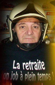 pompier volontaire pendant 42ans